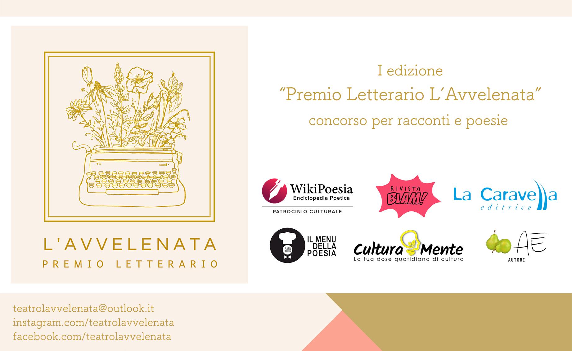 Premio Letterario L'Avvelenata