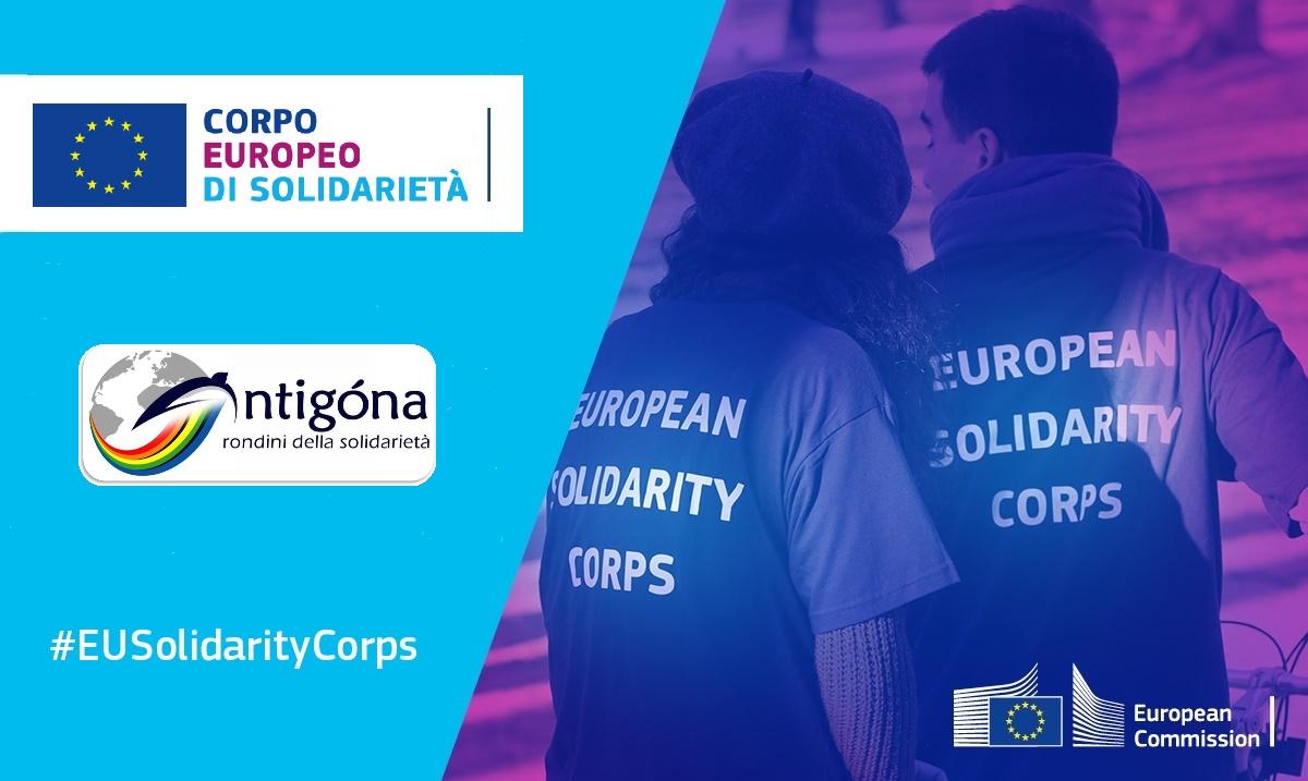 Volontari da inserire in attività attinenti al Corpo Europeo di Solidarietà