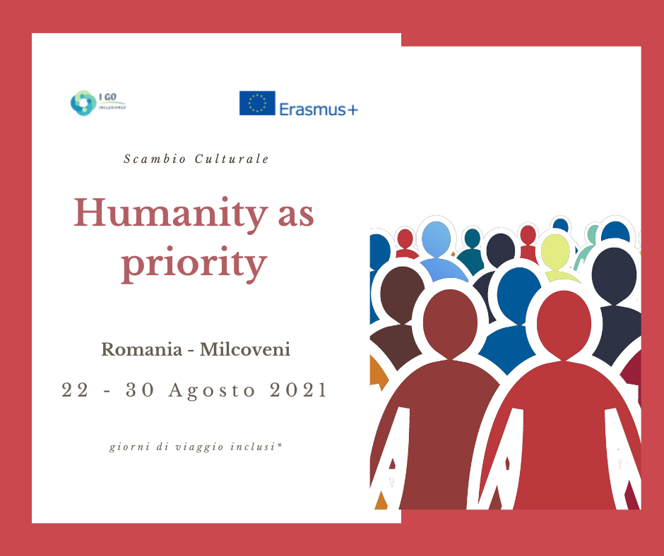 Scambio di Giovani Erasmus+ in Romania – HUMANITY AS PRIORITY