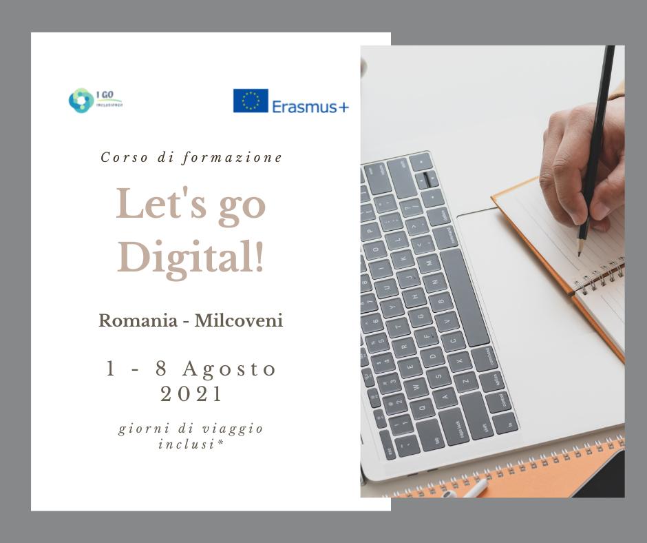 """Training Course Erasmus+ in Romania – """"LET'S GO DIGITAL"""""""