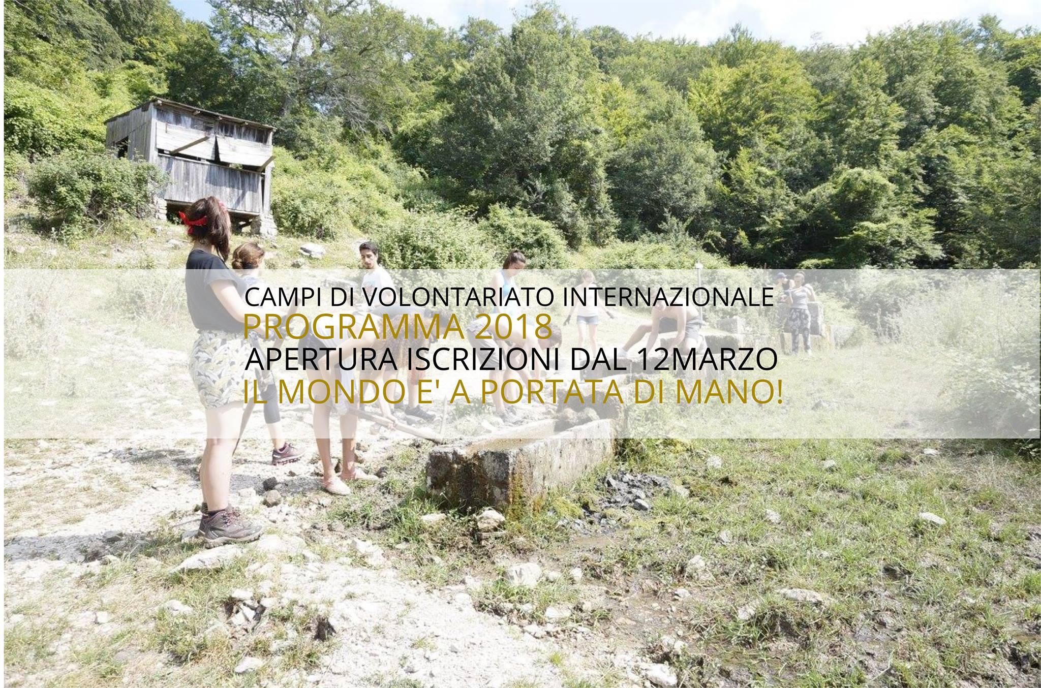 Aperte le iscrizioni ai workcamps internazionali Lunaria!