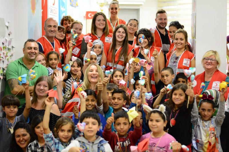 Volontariato con bambini svantaggiati in Turchia: ESC