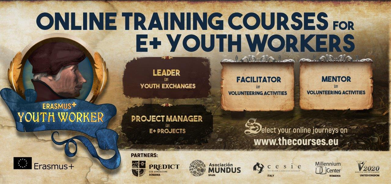 Youth Worker +: il Corso di Formazione Online per conoscere il mondo Erasmus+