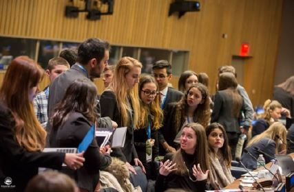 """CORSO IN """"INTERNATIONAL NEGOTIATIONS IN THE CONTEXT OF UN: ITALY MODEL UNITED NATIONS"""""""