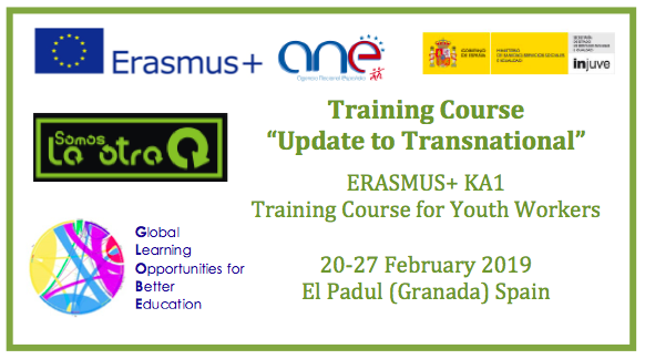 Training Course KA1 Erasmus+ per Youth Workers