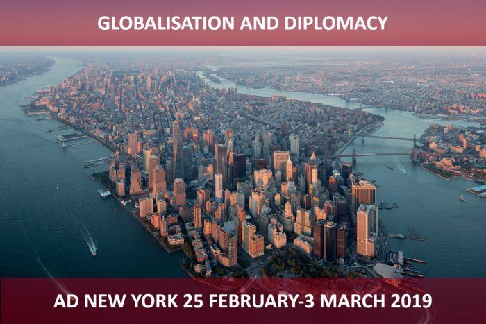 Programma di alta formazione intensiva a New York: GLOBALISATION AND DIPLOMACY