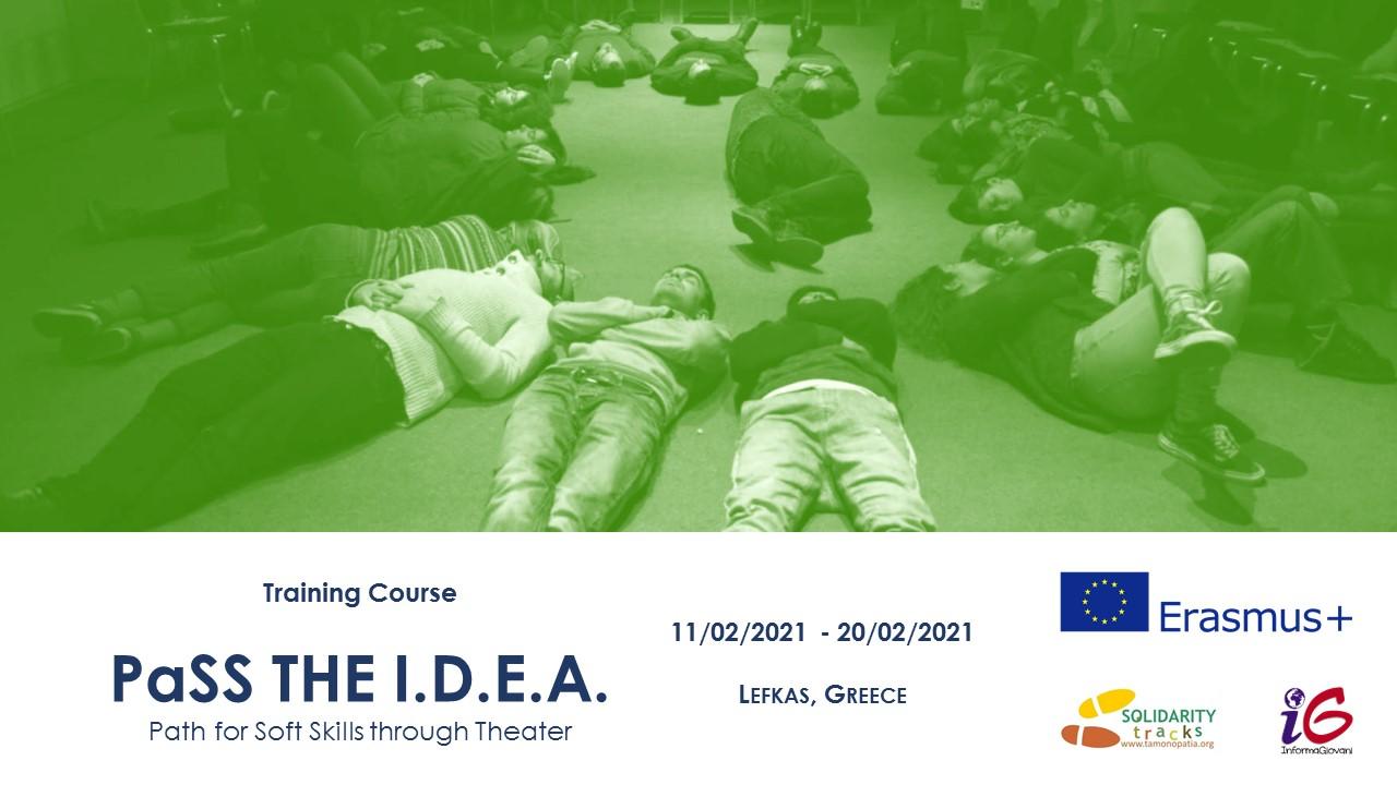 Corso di Formazione in Grecia su teatro e metodi per l'inclusione sociale (11-20/02/2021)