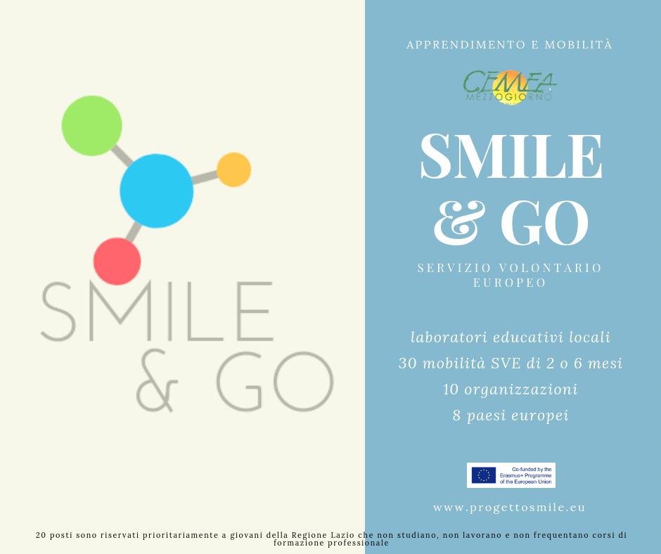SMILE & GO: SVE - 30 posti di 2 o 6 mesi in 8 paesi europei
