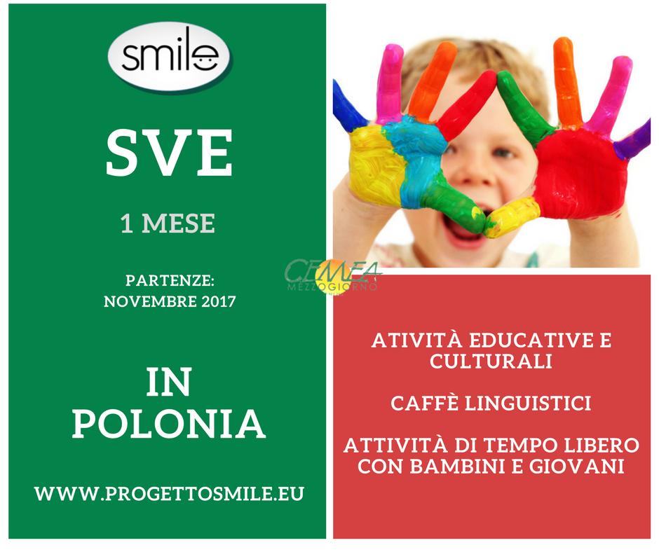 SVE 1 mese in Polonia, attività educative e culturali