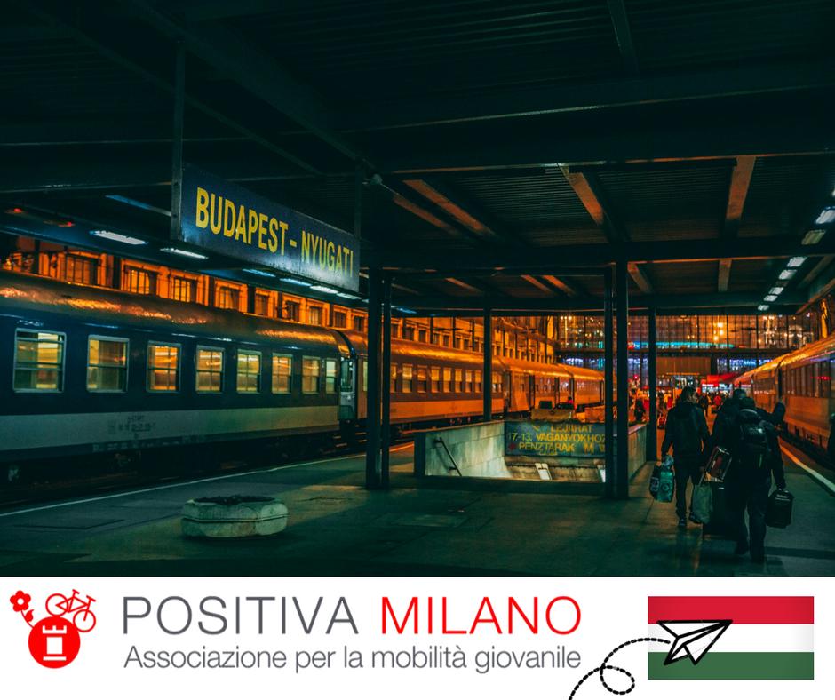 Scambio europeo in Ungheria sul dialogo interculturale con Positiva Milano