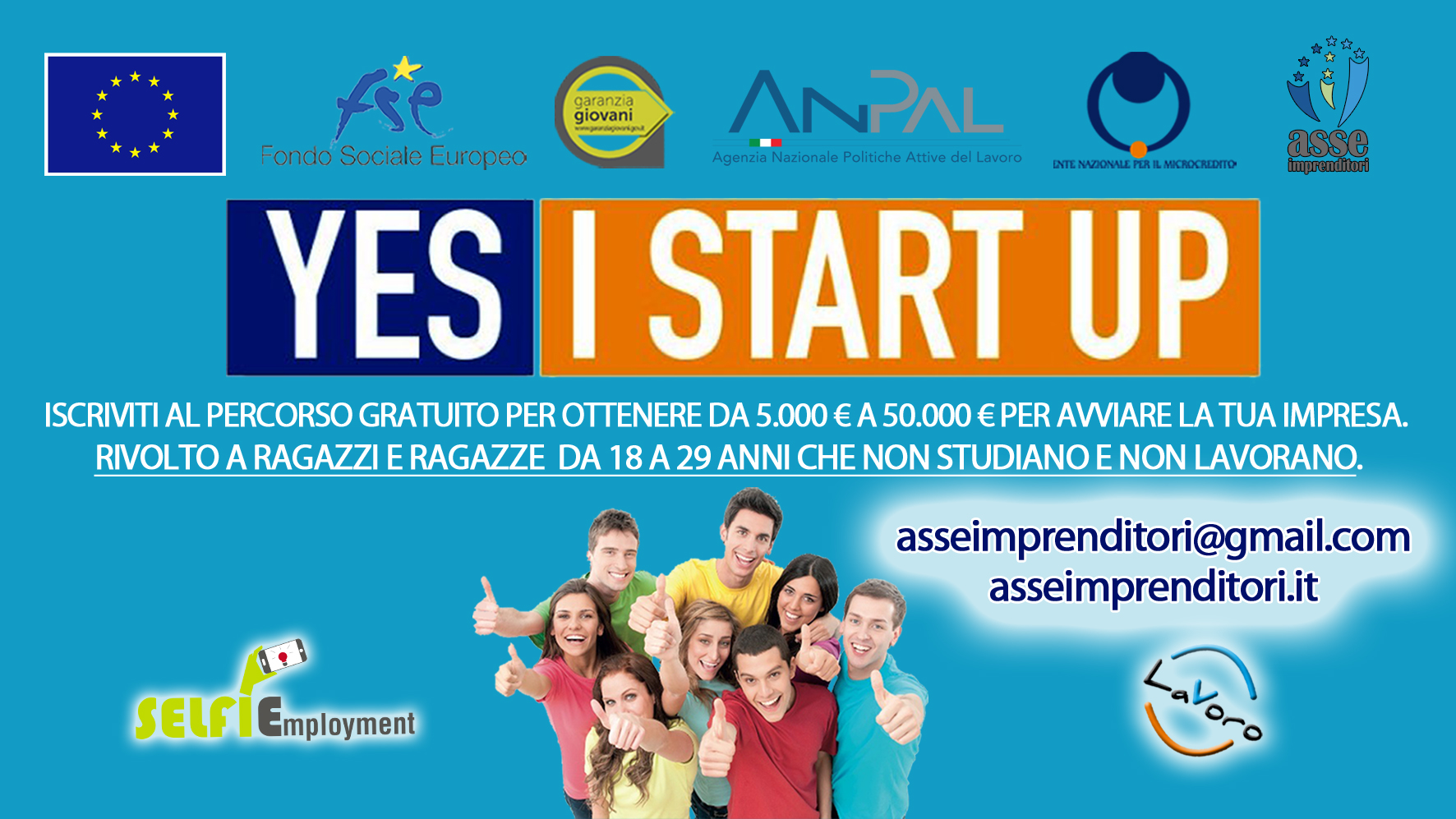 Percorso Yes I Start Up